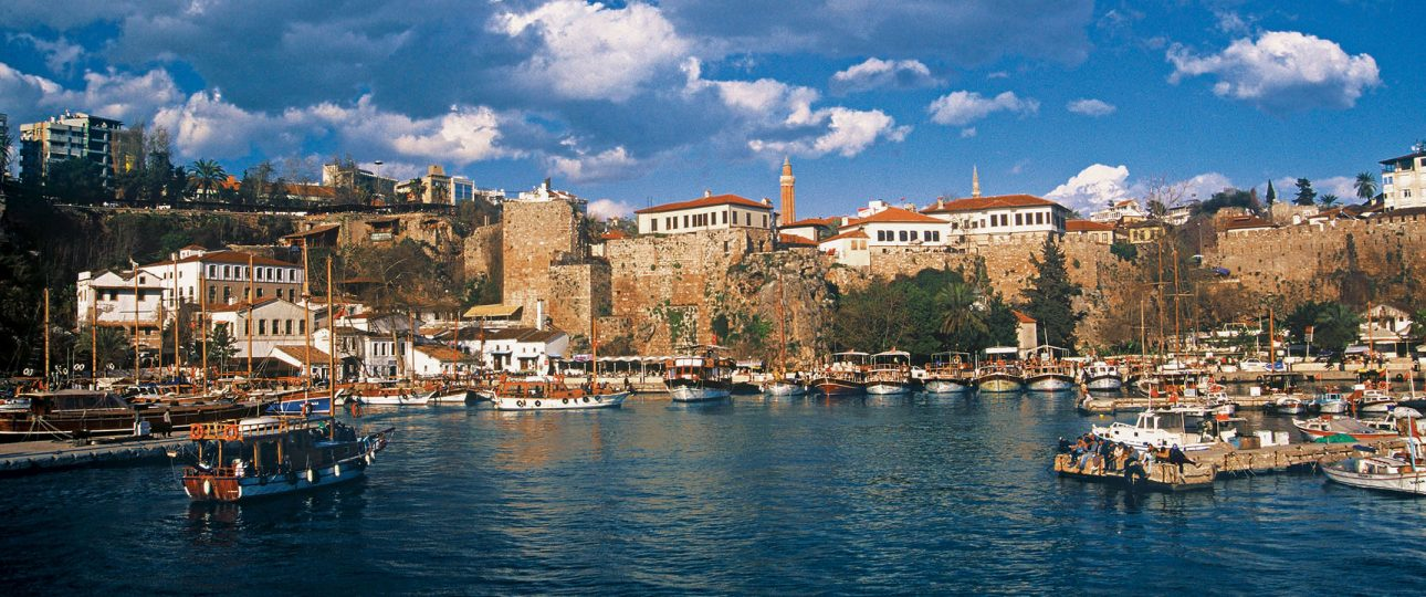 antalya old harbour