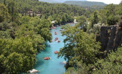 antalya rafting trip