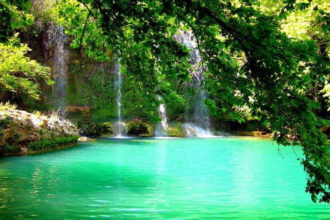 antalya kursunlu waterfall and perge