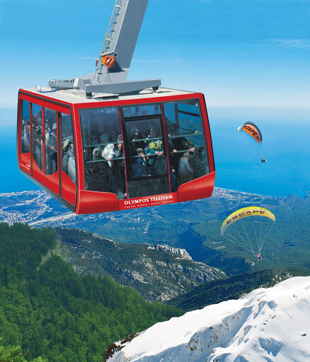 cable car antalya tahtali