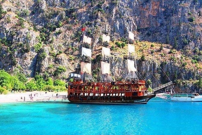 Antalya pirate boat tour