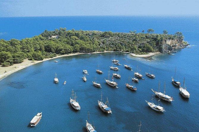 antalya coast boat tour